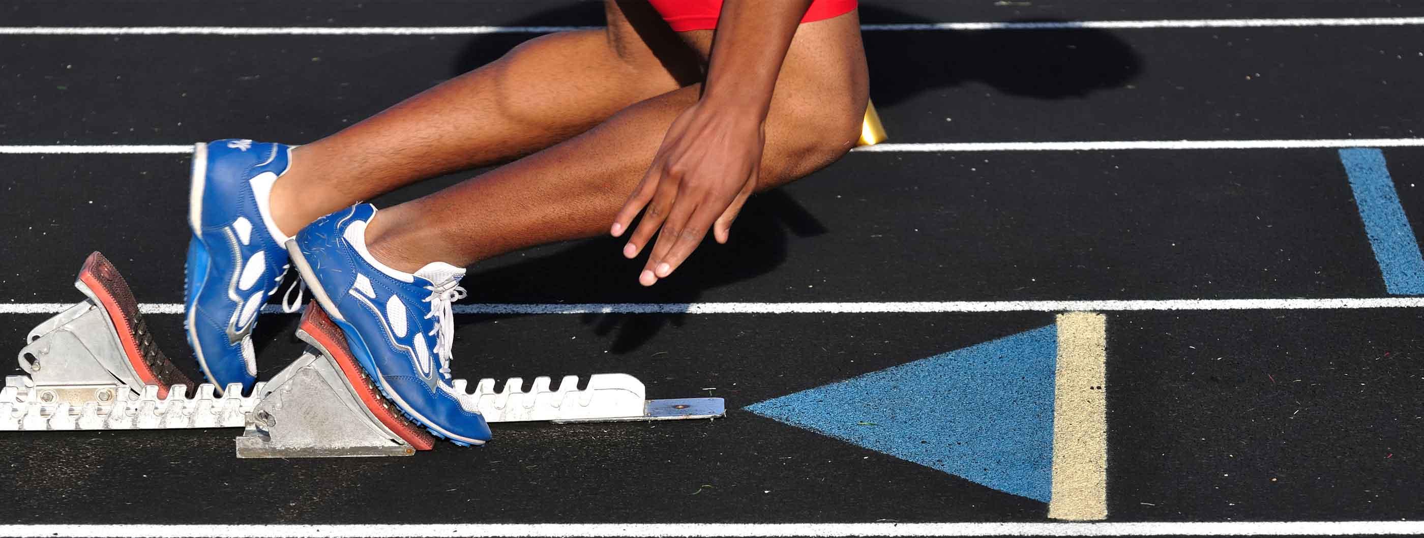 Track Athlete - Starter's Block